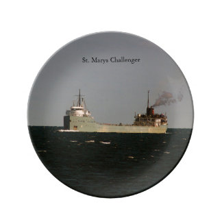 St. Marys Challenger decorative plate