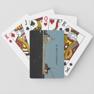 St. Marys Challenger playing cards
