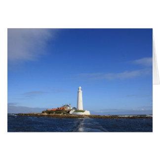 st mary's Lighthouse card
