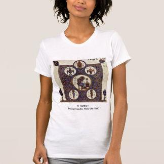 St. Matthew By Byzantinischer Maler Um 1020 Tee Shirts