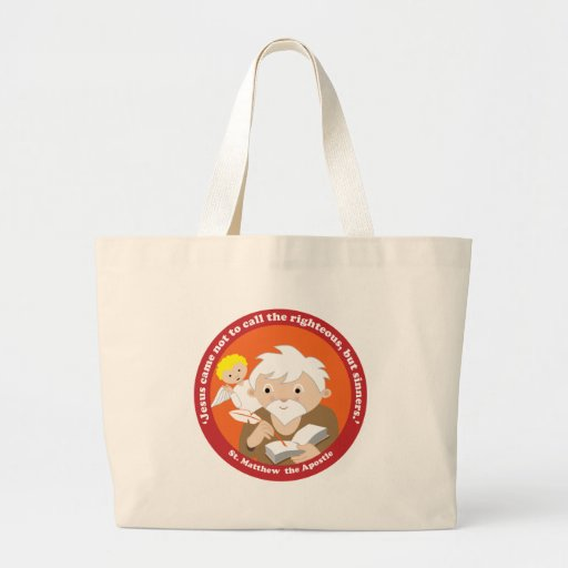 St. Matthew the Apostle Tote Bags