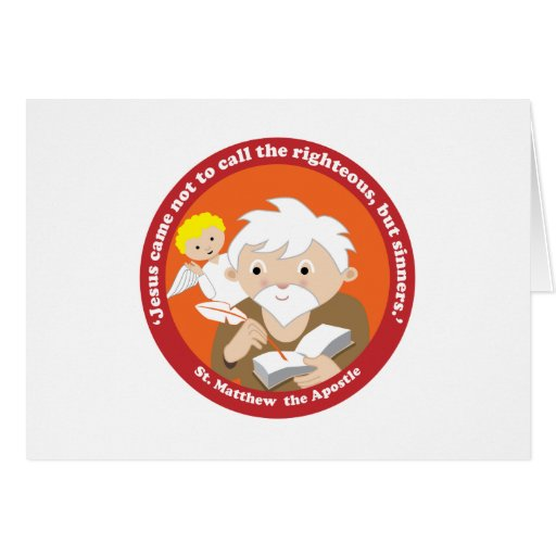 St. Matthew the Apostle Greeting Cards
