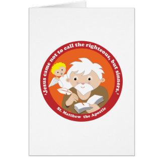 St. Matthew the Apostle Greeting Card