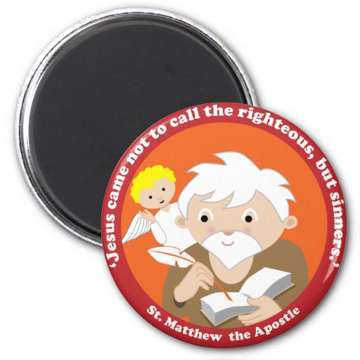 St. Matthew the Apostle Fridge Magnet