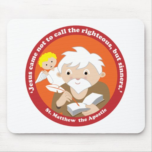 St. Matthew the Apostle Mouse Pads