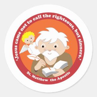 St. Matthew the Apostle Round Sticker