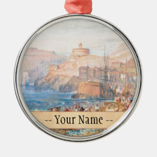 St. Mawes, Cornwall Joseph Mallord William Turner Christmas Tree Ornaments