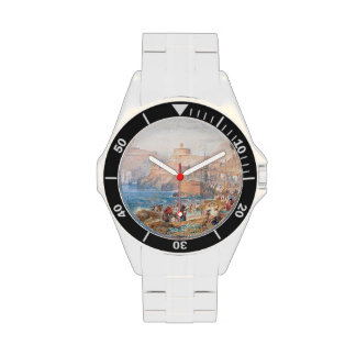 St. Mawes, Cornwall Joseph Mallord William Turner Wristwatches