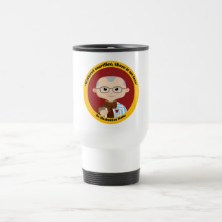St. Maximilian Kolbe Travel Mug