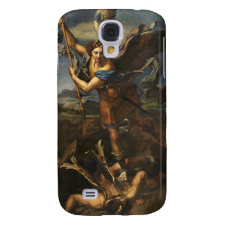 St. Michael and the Satan - Raphael Galaxy S4 Covers