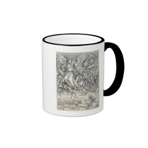 St. Michael Battling with the Dragon Coffee Mugs