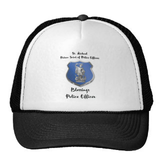 St. Michael Blessings to New Police Officer Cap