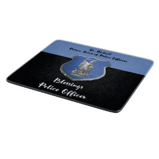St. Michael Blessings to New Police Officer Cutting Board