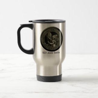 St Michael Emblem Stainless Steel Travel Mug