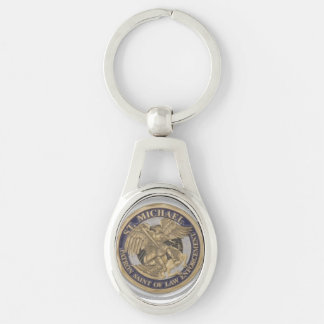 St MICHAEL KEY CHAIN