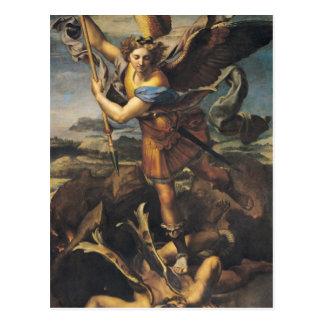 St. Michael Overwhelming the Demon, 1518 Postcard