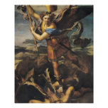 St. Michael Overwhelming the Demon, 1518 Poster