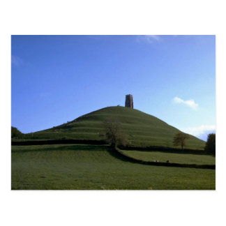 St Michael s Chapel and tor Glastonbury Somerse Post Cards