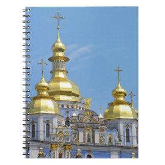 St Michael's - Kyiv Spiral Notebook
