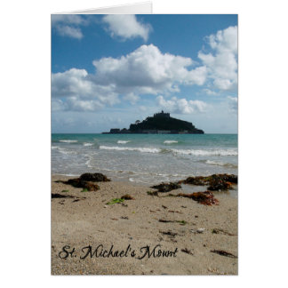 St Michael's Mount Marazion Cornwall England Card