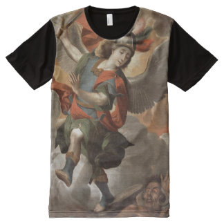 St Michael the Archangel All-Over Print T-Shirt