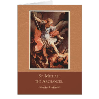 St. Michael the Archangel Pray For Us Card