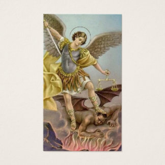 St. Michael the Archangel Prayer Card