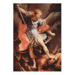St Michael the Archangel Prayer Card Pack Of Chubby Business Cards