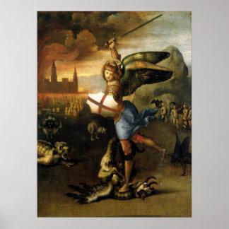 St. Michael the Archangel - Raphael Poster
