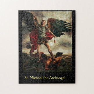 St. Michael the Archangel slaying the Devil Jigsaw Puzzle