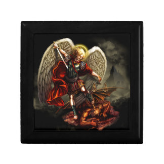 St. Michael the Archangel Small Square Gift Box