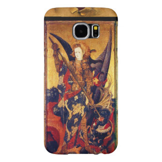 St. Michael Vanquishing Devil as Medieval Knight