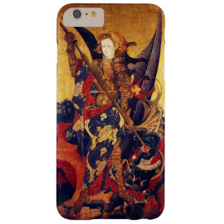 St. Michael Vanquishing Devil as Medieval Knight Barely There iPhone 6 Plus Case