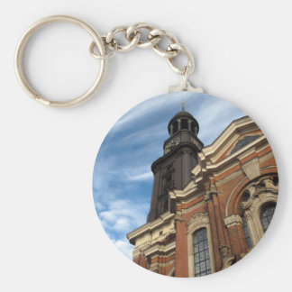 St. Michaelis church Basic Round Button Key Ring