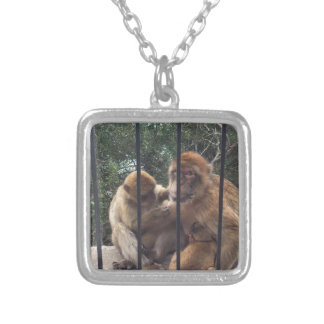 St Michael's Cave Silver Plated Necklace