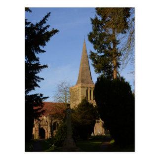 St Michaels Church Stoke Prior Postcard