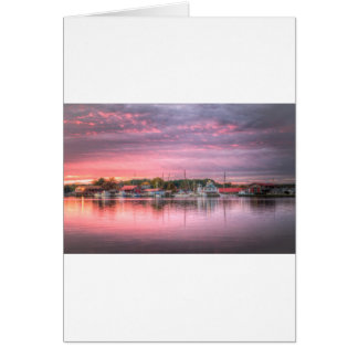 St. Michaels Harbor Card