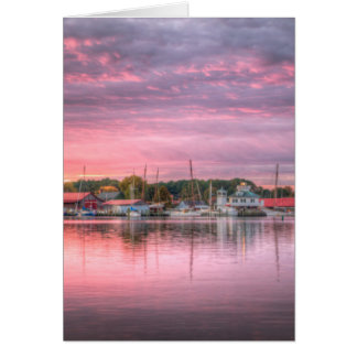 St. Michaels Harbor Card