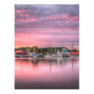 St. Michaels Harbor Postcard