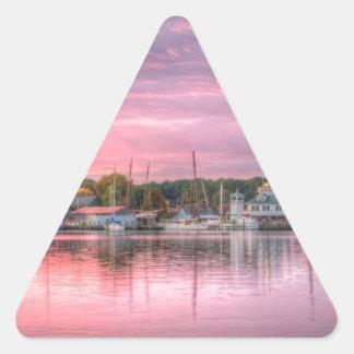 St. Michaels Harbor Triangle Sticker