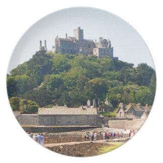 St Michael's Mount Castle, England 2 Plate