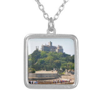 St Michael's Mount Castle, England 2 Silver Plated Necklace
