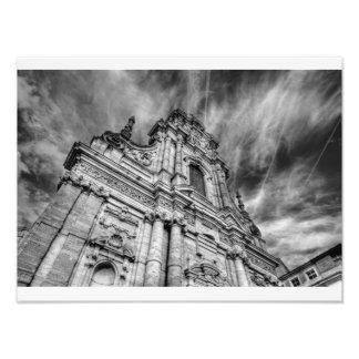 st-michaels's church exterior leuven photo print