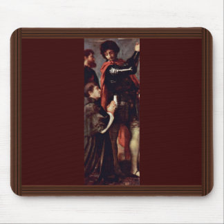 St. Nazzarus And St. Celso And Praying Donors Mousepads