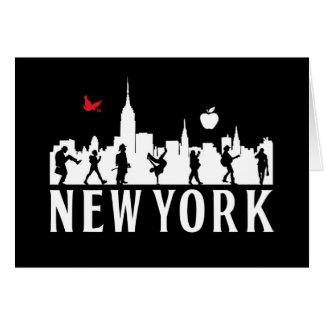 st_new york-skyline- greeting card