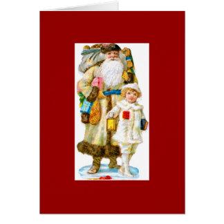 St. Nicholas and Child Card