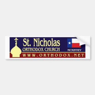 St Nicholas Bumper Stickers