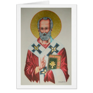 St Nicholas Christmas Card