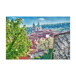 St.Nicholas Church Terrace Gardens Canvas