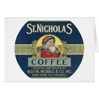 St. Nicholas Coffee Card